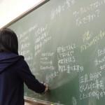 進路決定支援授業キックオフ講義の様子(2)