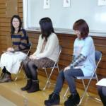 1月30日に就活体験談を話してくれた4年生たち