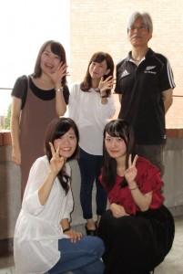 今年度はこのメンバーで大学祭企画を運営しています