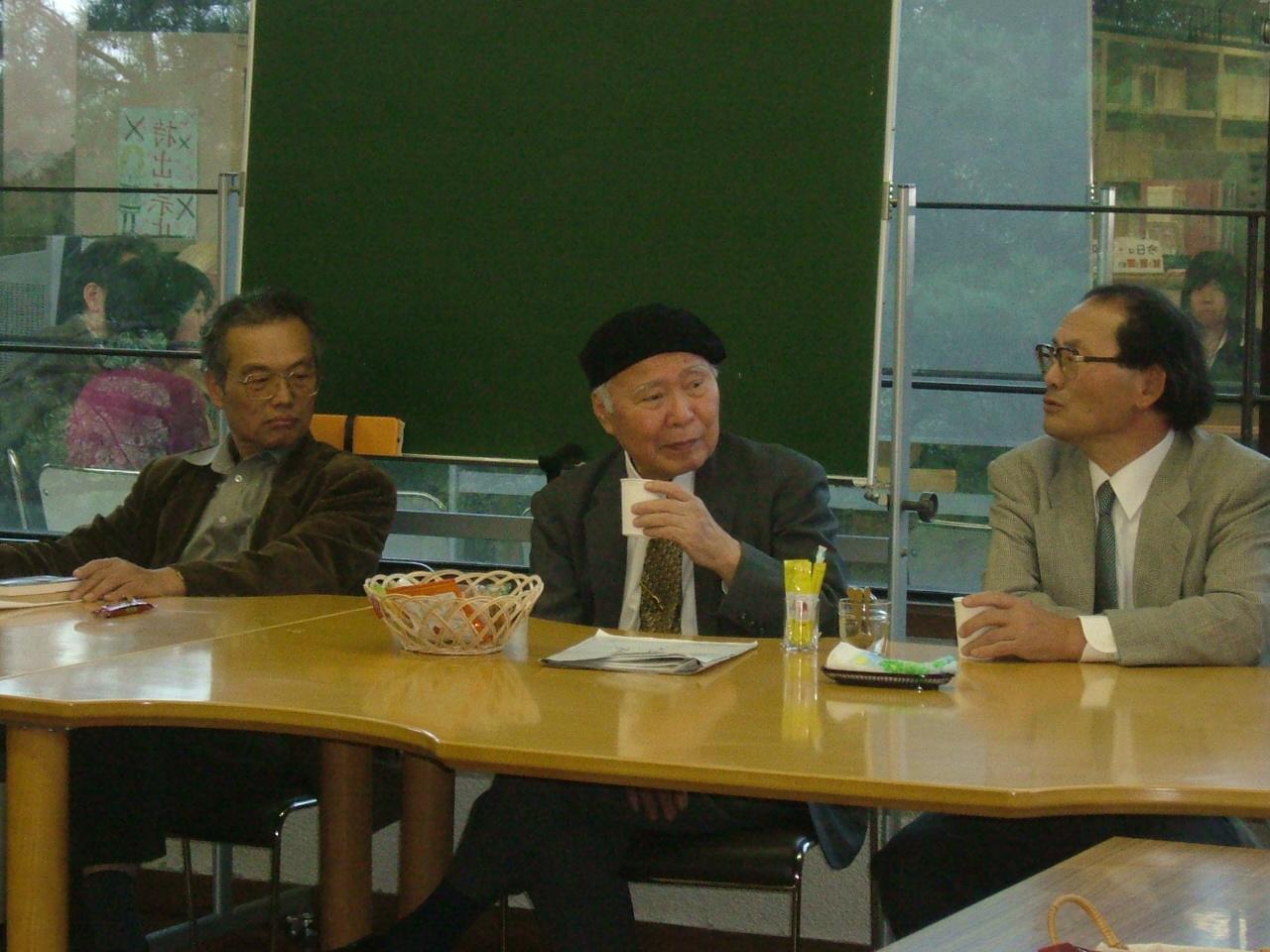 蒲生芳郎先生講演会